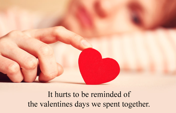 Sad Valentines Day Quotes, Anti Lovers Quotes, No Valentine for Single