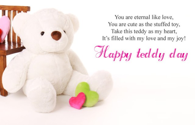 Teddy Day Messages - Cute Happy Teddy Day Images for Whatsapp