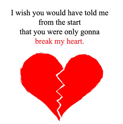 Broken Heart DP with Sad Lines