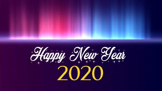 Happy New Year 2K20 - Happy New Year 2020 Wallpaper, HD Greetings