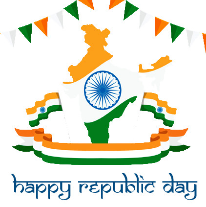 Indian Map Republic Day Pro Pic