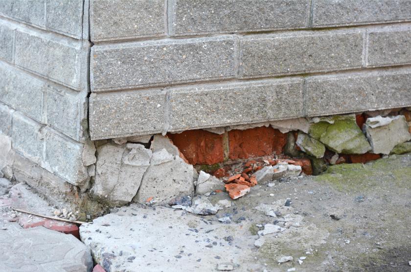 how to repair foundation cracks diy