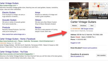 Local Business Search Statistic - Is Your Google Business Listing