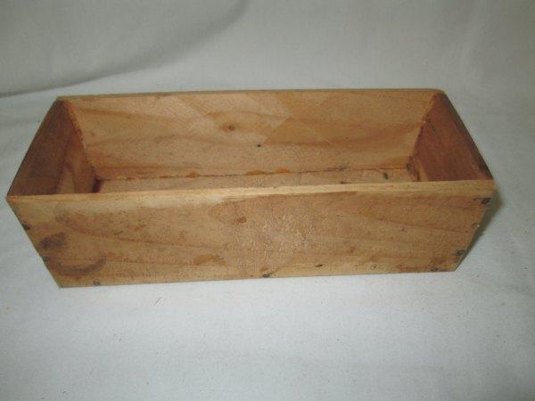 Vintage Wooden Cedar Storage box hand crafted storage box