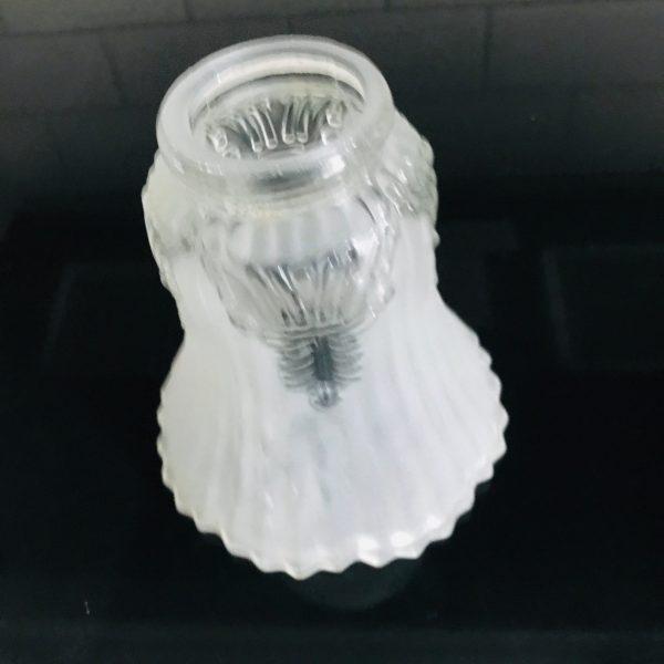 Antique Bridge Lamp glass shade globe Glass collectible lighting farmhouse vintage home decor