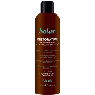Nook Solar Restorative Hair and Body Shampoo - Шампунь омолаживающий для волос и тела