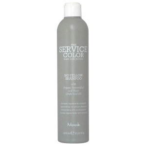 Nook The Service Color Regenerating No-Yellow Shampoo - Шампунь от желтизны