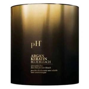 pH Argan and Keratin Безаммиачная осветляющая пудра 500гр