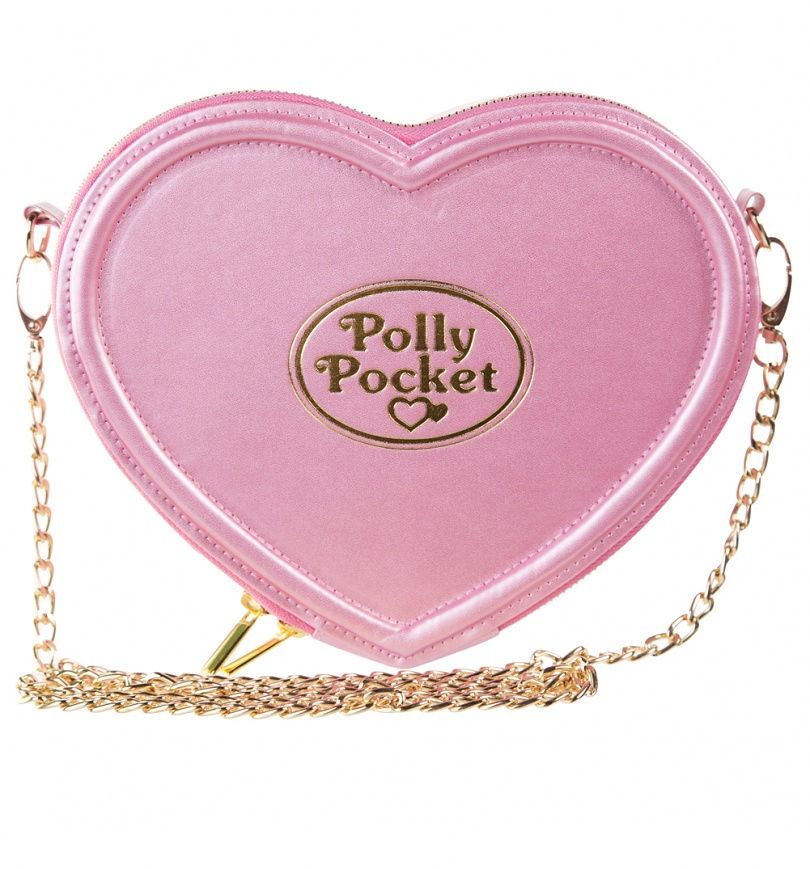 pink polly pocket heart