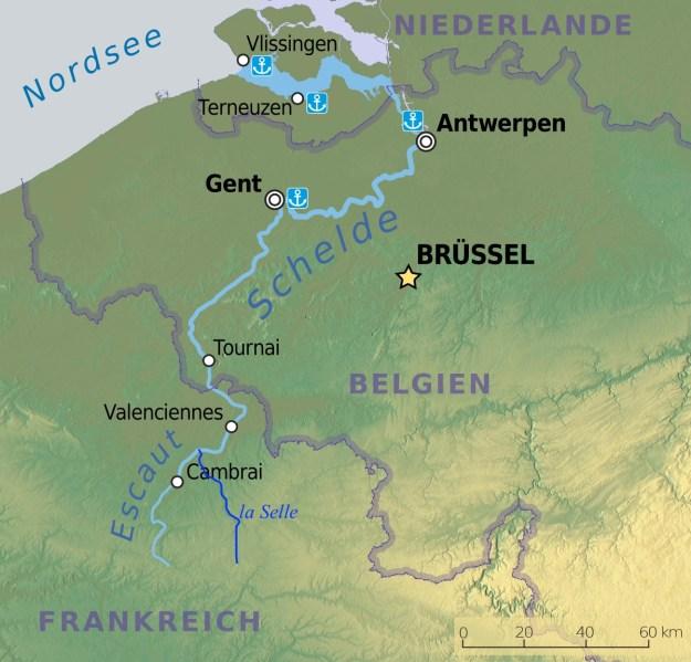 la Selle affluent de l'Escaut