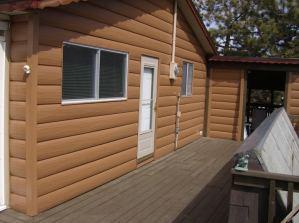 Cedar TruLog Siding in Westcliffe CO