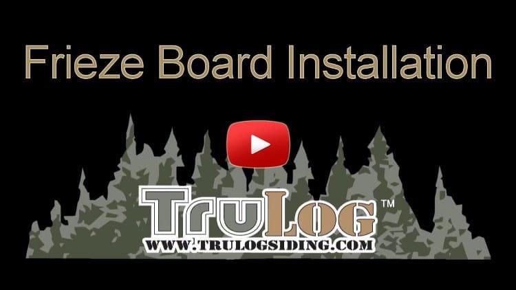 Frieze Board Installation