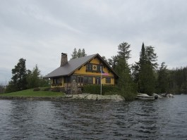 isolated cabin photo