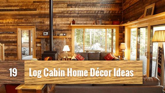 log home living room decorating ideas brown set 19 cabin decor