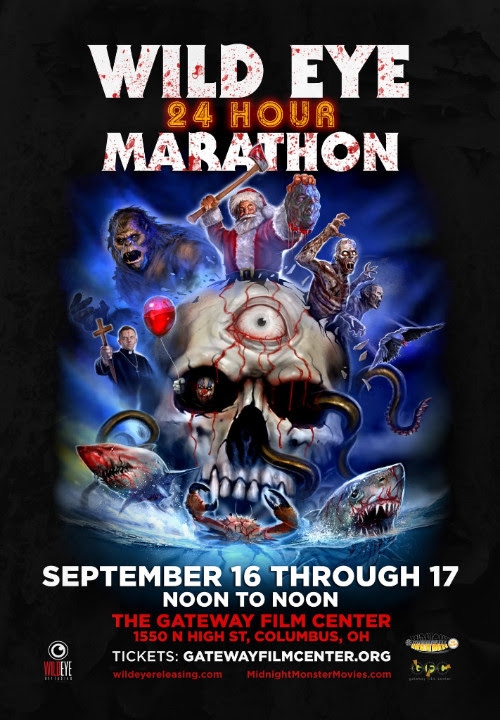 Ohio Fiends Wild Eye Releasing Announce 24hr Horror Movie Marathon