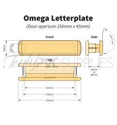 preview omega premium 12 letterplate  [ 1600 x 1600 Pixel ]