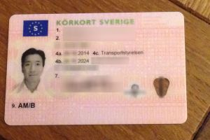 My driver's license