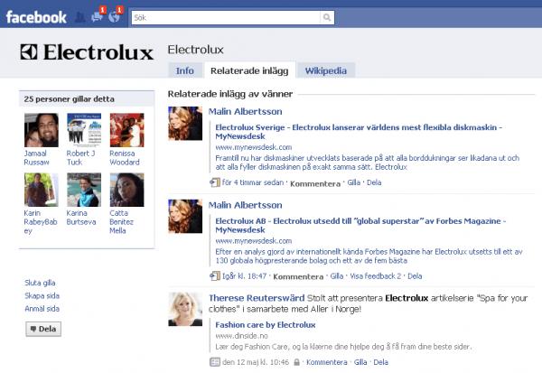 Facebook Community pages förvirrar varumärken