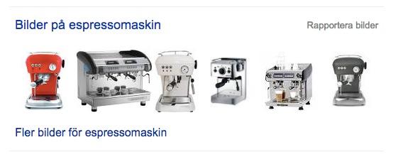 PLA espressomaskin