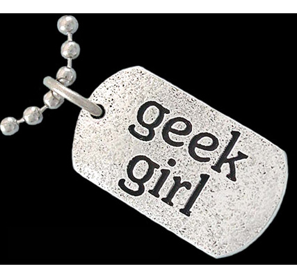 Geek Girl bling bling