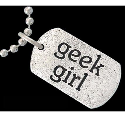 Geek Girl bling bling