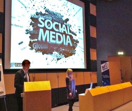 Framtidsspaning – Sociala Medier för stora företag