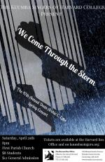 We Come Through the Storm: The 47th Annual Dean Archie C. Epps Spring Concert