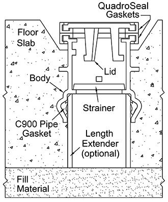 Floor-Type Hydrostatic Tank Pressure Relief Valves
