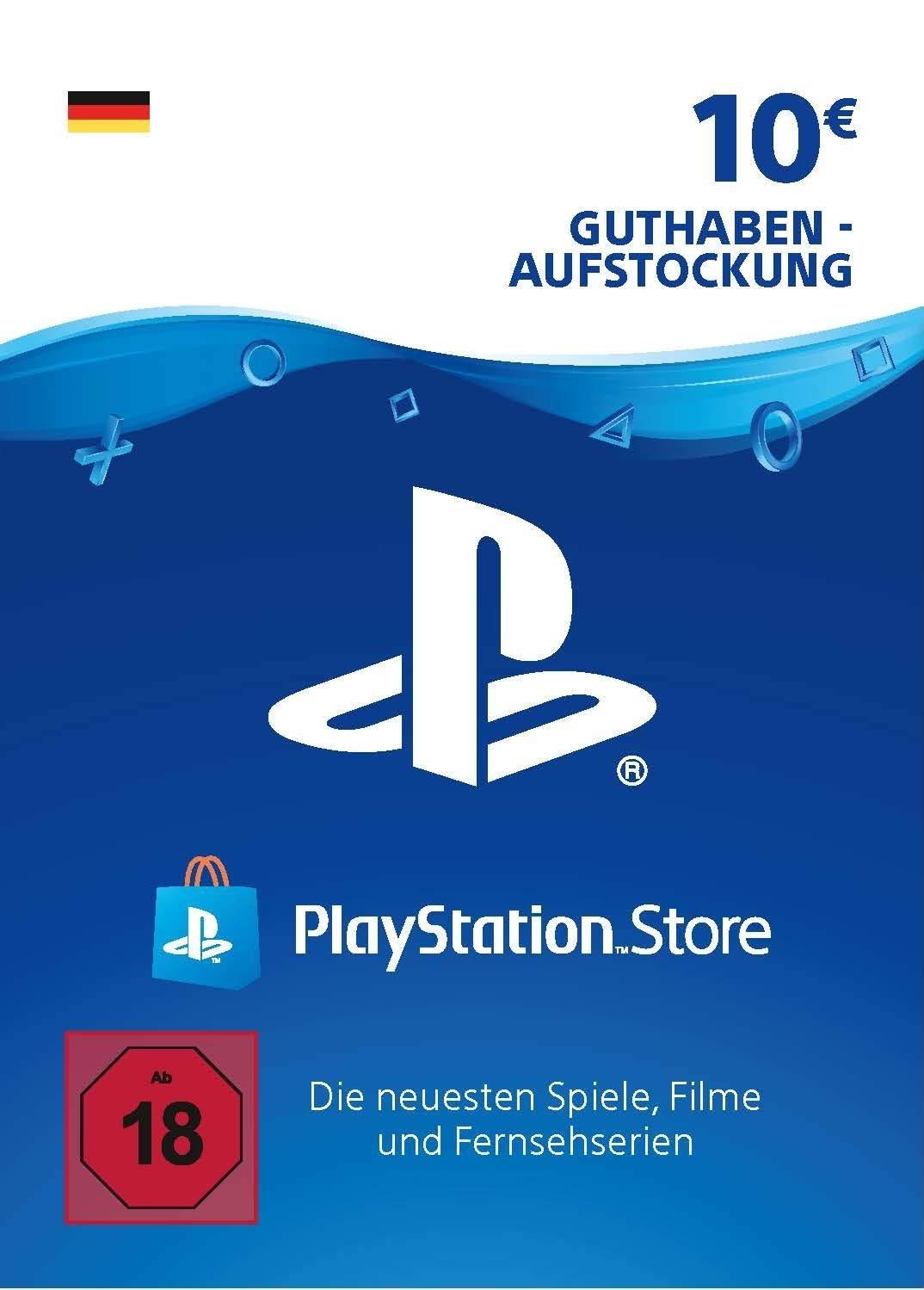 PlayStation Store Guthaben 10 Euro Deutschland