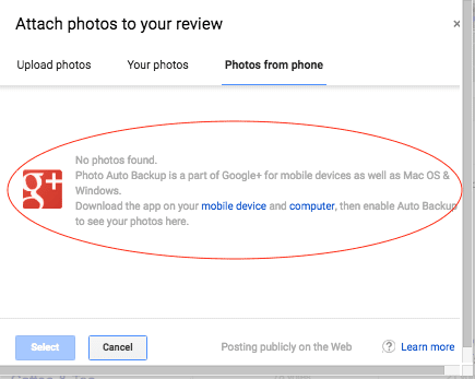 Customers Can now Add Photos to your Google Reviews