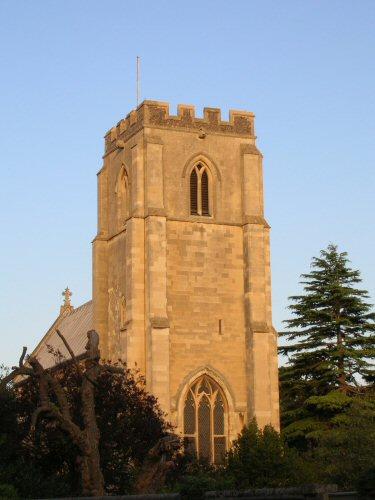 Trumpington Parish Church (Summer evening)