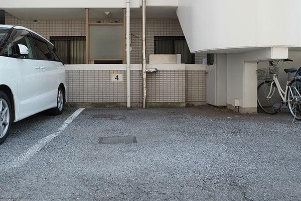 松戸二ツ木店駐車場