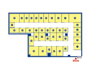 トランクルーム広島中広町店 案内図
