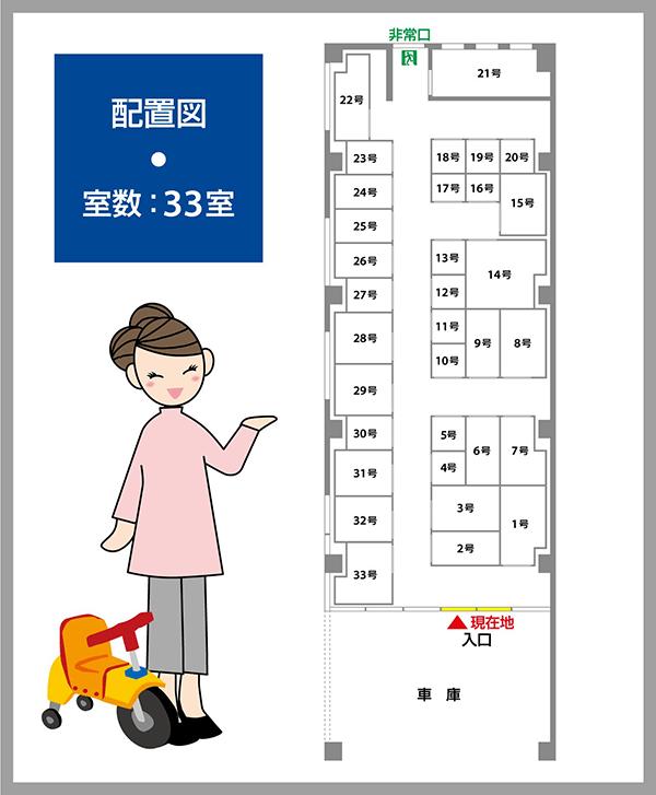 静岡馬渕店 案内図