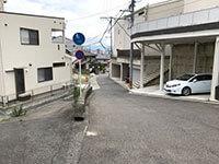 トランクルーム広島高須店順路3