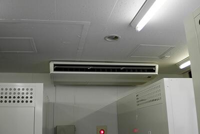 トランクルームのエアコン