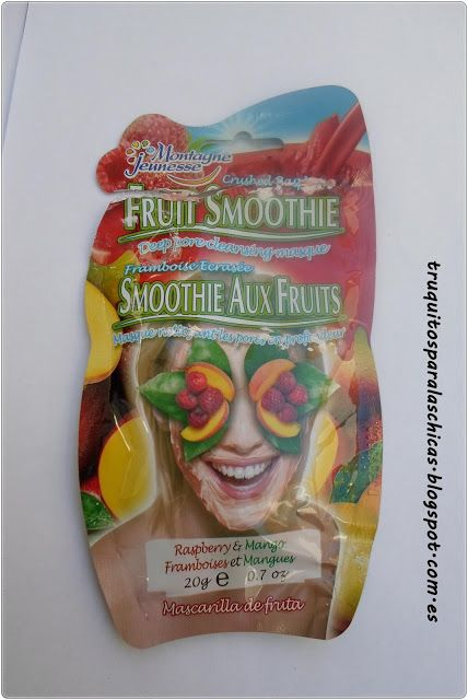 Mascarilla fruit smoothie de Montagne jeneusse