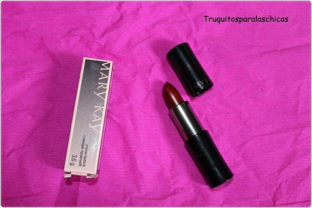 labial rojo mary kay