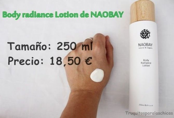 Body radiance Lotion de Naobay
