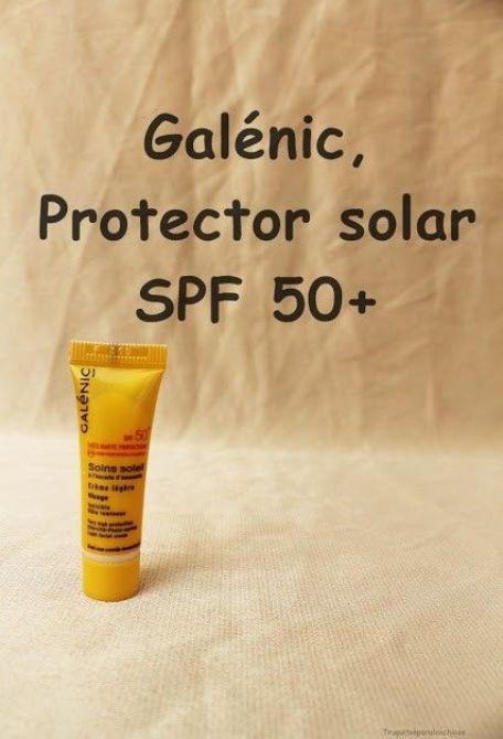 Crema de spf 50, galénic