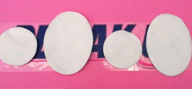 tamaños discos de algodon Demak Up