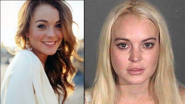 Lindsay Lohan antes y despues