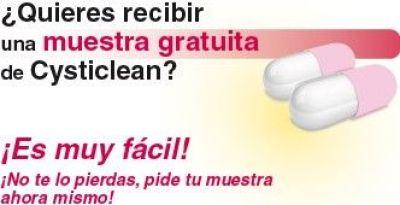 Muestras gratis de las capsulas Cysticlean
