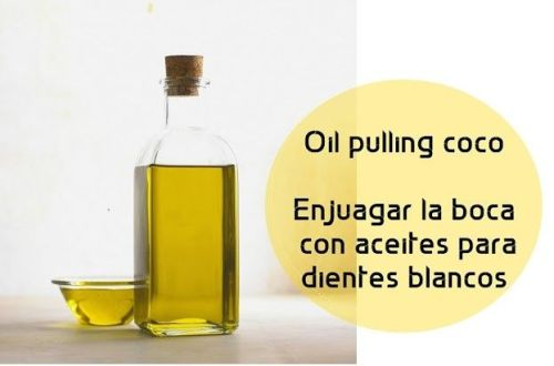 Oil pulling coco