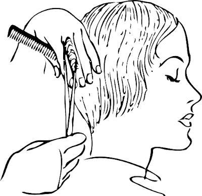 mujer en peluqueria