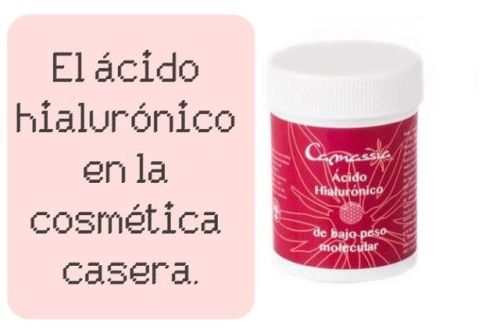 ácido hialurónico en la cosmética casera