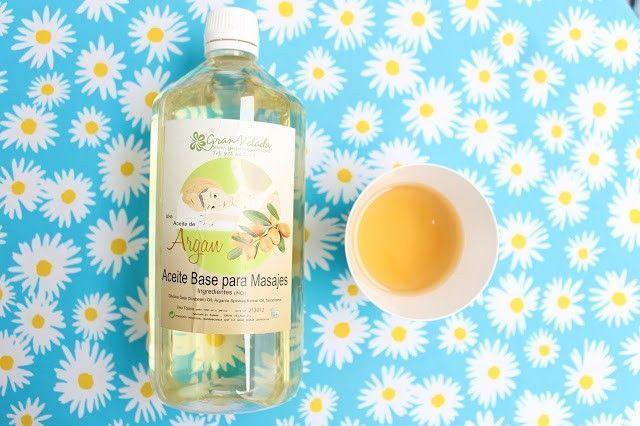 aceite de masaje argan