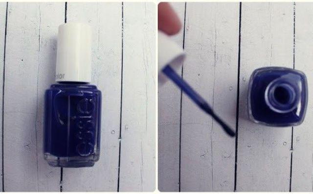 Esmalte essie azul