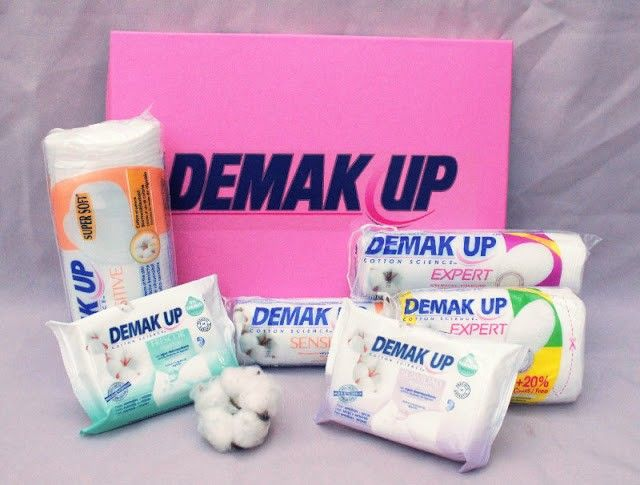 discos desmaquillantes Demak up