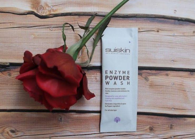 Suiskin enzyme powder wash